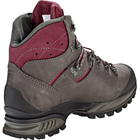 Hanwag Tatra II Wide GTX Shoes Damen asphalt/dark garnet